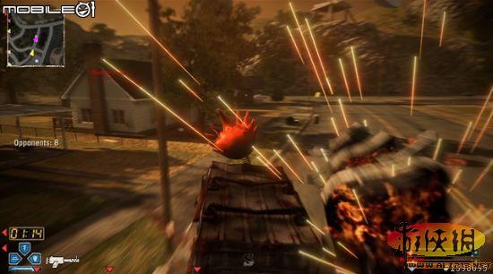 杀式战斗赛车 烈火战车 游戏图文攻略 烈火战车攻略图片