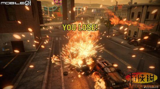 虐杀式战斗赛车烈火战车游戏图文攻略 16 烈火战车攻略秘籍图片