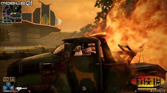虐杀式战斗赛车烈火战车游戏图文攻略 17 烈火战车攻略秘籍图片