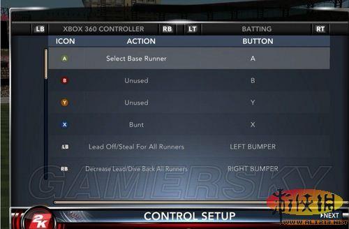 《美國職業棒球大聯盟2k12》投球擊球的技巧攻略_美國職業棒球大聯盟2k12攻略