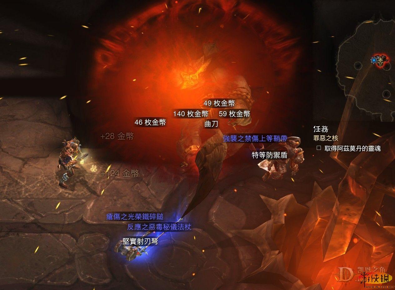 暗黑破坏神3 巫医solo炼狱第三幕关底boss阿兹莫丹攻略