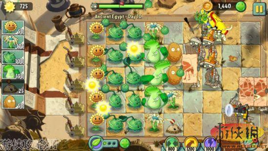 植物攻略僵尸2游戏攻略:疯狂的戴夫的疯狂周游美国12天自由行大战图片
