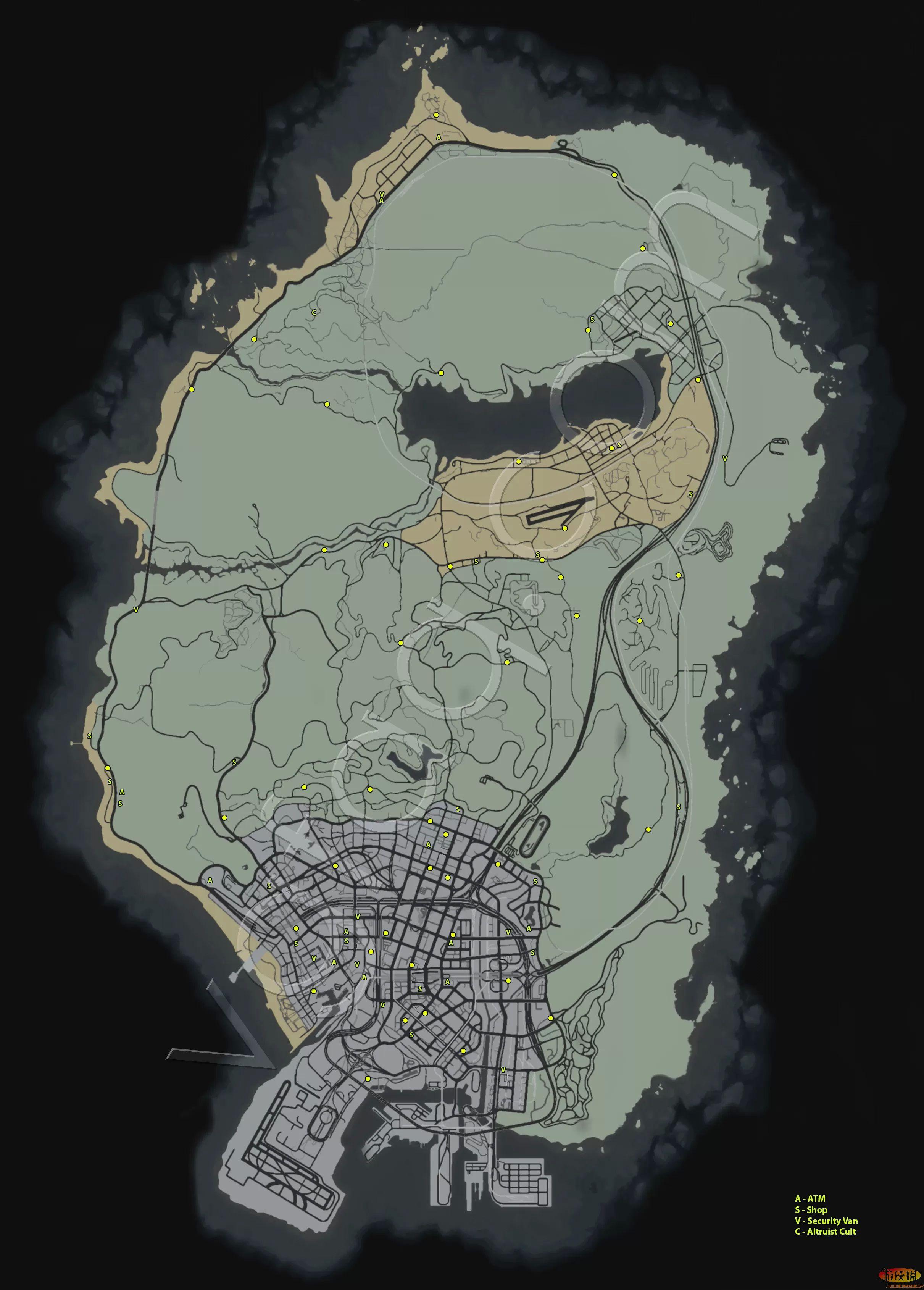 攻略 附地图位置