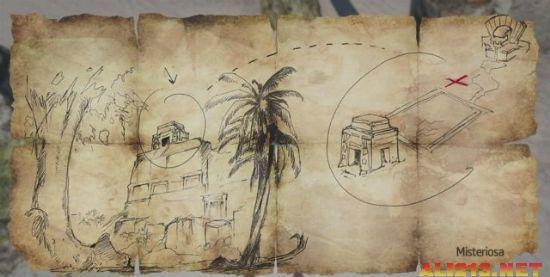 『刺客教條4:黑旗』獲得拿索藏寶圖的地點及方法