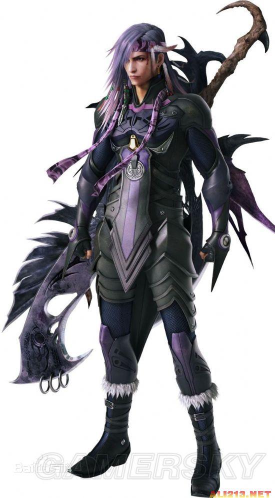 《最终幻想13:雷霆归来》凯亚斯角色介绍_最终