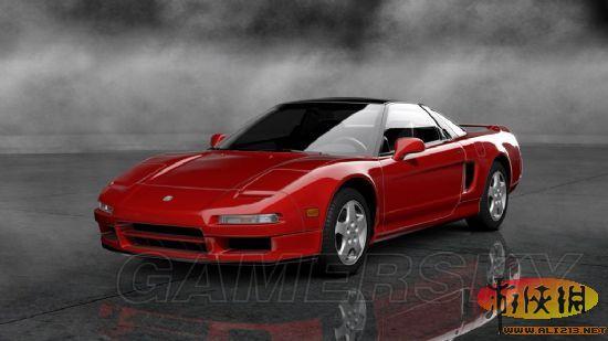 汽车制造商本田于1990年至2005制造的一款跑车,拥有全铝车身,高清图片