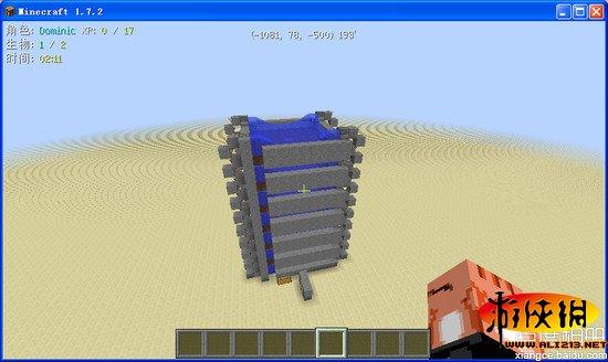 我的世界高效益自动小麦塔制作图文教程(2)