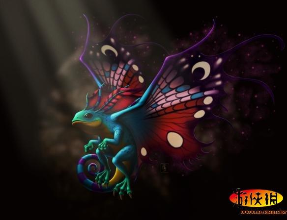 玩家可以在 魔兽世界 里购买魔法灵龙翱翔在艾泽拉斯的天空