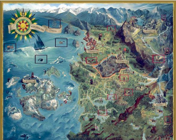 《巫师3:狂猎》难点怪物地图位置攻略