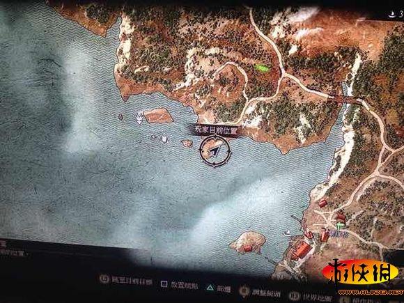 巫师3游泳去群岛
