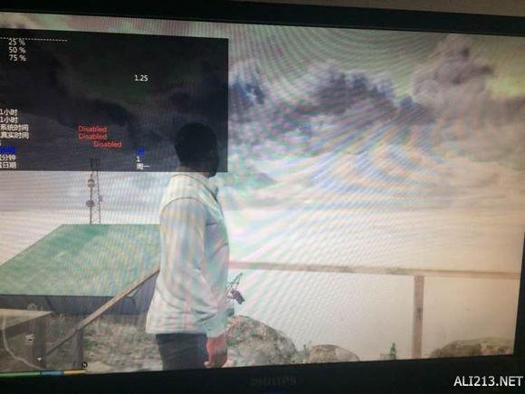 GTA5中的神秘天气 1 侠盗猎车手5 GTA5 C山外星人彩蛋 神秘酸雨天气探索 侠盗猎车手5 GTA5 攻略秘籍