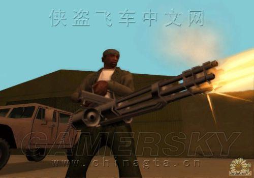 GTASA圣安地列斯主角 卡尔 CJ 侠盗猎车手5 GTA5 历代主角资料汇总图片