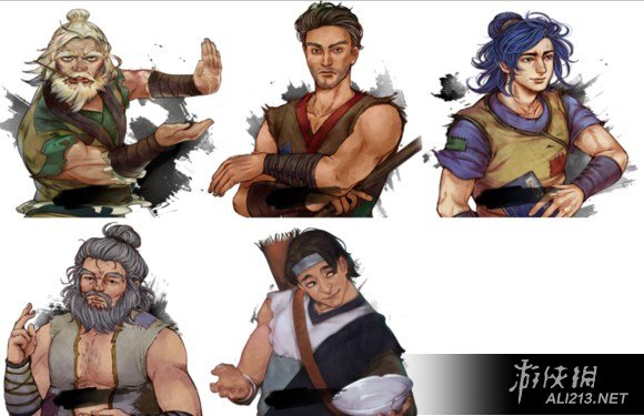 《侠客风云传》新旧版各门派势力及全人物对比图片