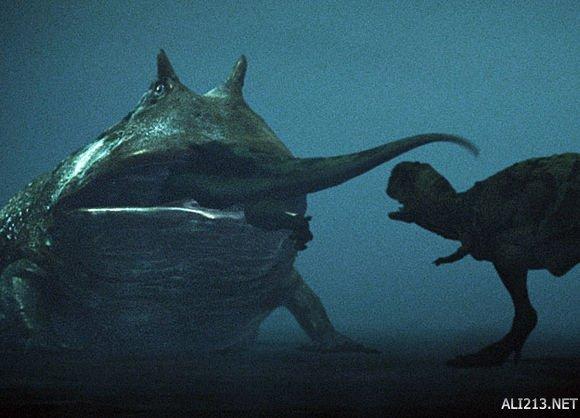别西卜蛙/恶魔蛙/魔鬼蛙/地狱蛙   Beelzebufo ampinga,分布于白垩纪(7000万年前)非洲的马达加斯加岛,体长可达40cm,重约5kg,是地球有史以来出现过的最大无尾目动物。   别西卜蛙长有宽大的嘴,学者相信他们可以吃掉一些小型恐龙