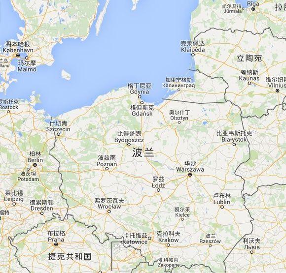 《巫师3:狂猎》游戏世界与波兰对比地图一览