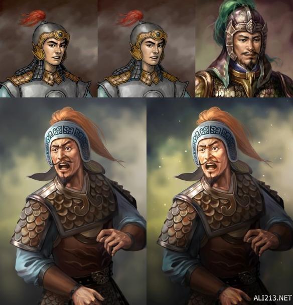 甘为继室_《三国志13》全武将9代以来能力及画像对比 哪个武将变化最大