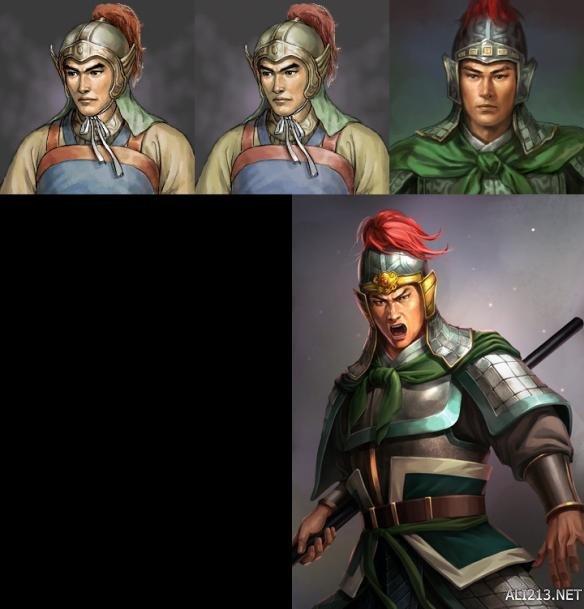 《三国志13》全武将9代以来能力及画像对比 哪个武将变化最大