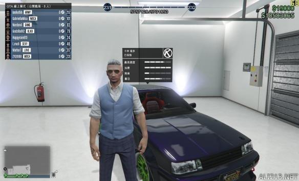 侠盗猎车手5(gta5)个人收豪车性能点评