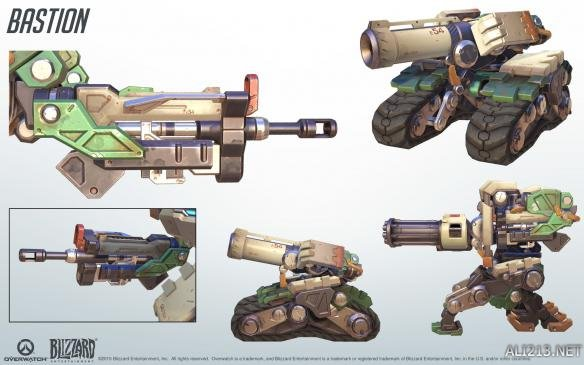 末日堡垒_守望先锋英雄Cosplay及武器设定图(2)_堡垒_游侠网