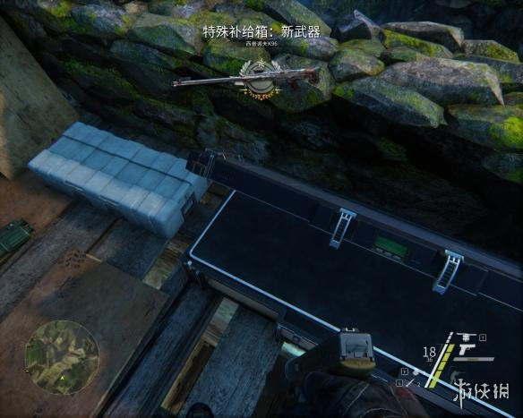 《狙击手:幽灵战士3》k96位置图解