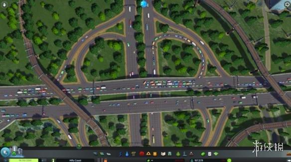 城市天际线交通规划图文教程 城市天际线道路规划指南 交通产生 通勤