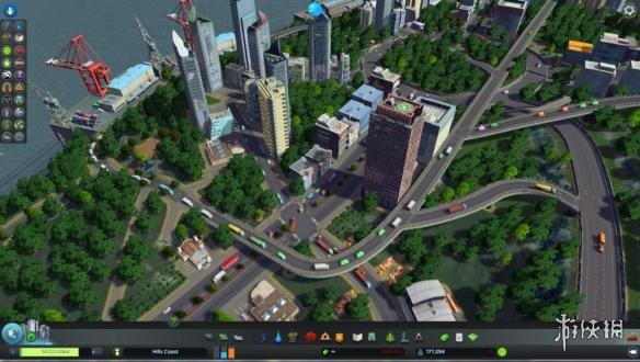 城市天际线交通规划图文教程 城市天际线道路规划指南 5 骨干路网 道路分级