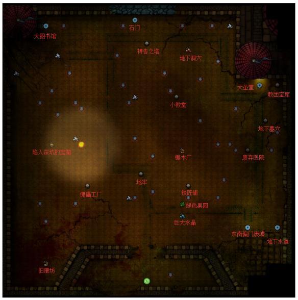 地下城堡2 黑暗觉醒图3失落王城通关流程攻略