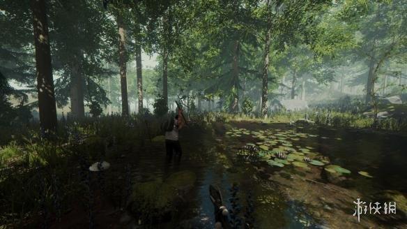 《森林》原木运到岛上方法