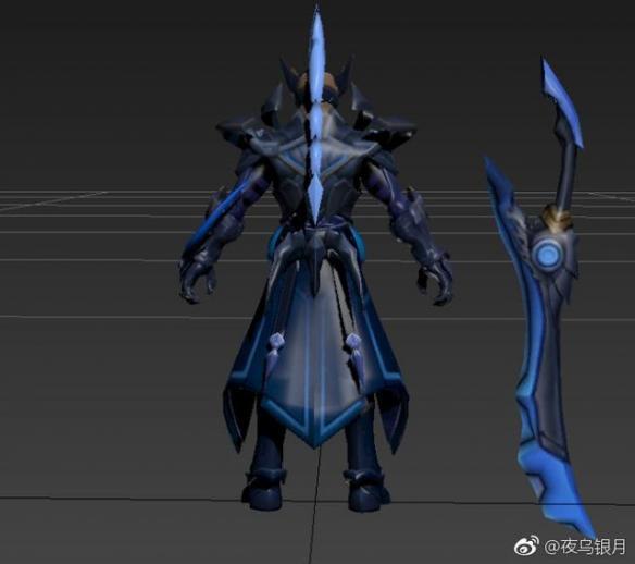 王者荣耀铠皮肤曝光 魔龙铠甲,模型欣赏