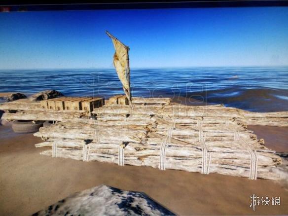 《荒岛求生》大木筏制作方法