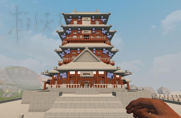 中国四大名楼_《七日杀》建筑党福利中国四大名楼鹳雀楼滕王阁构造欣赏