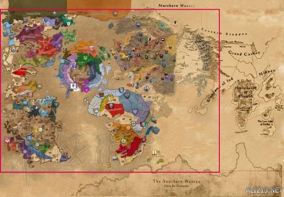 《战锤:全面战争》联合地图个人猜测分析