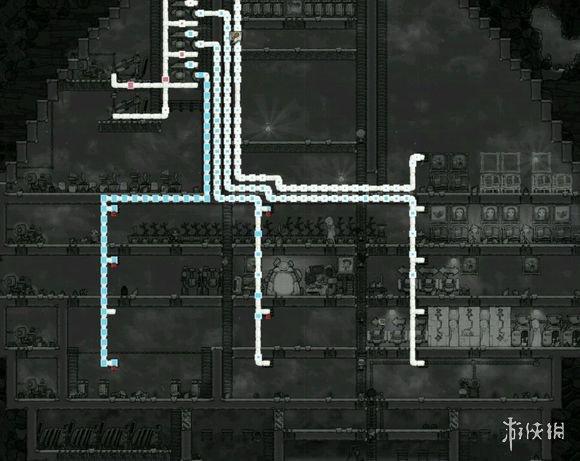 做好变电器防止过载,每层电路配一个变电器,分配好水库和排污水库