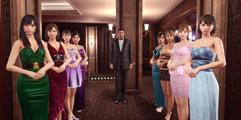 《如龙:极2》纯虎落黑衣男子无伤打法演示视频