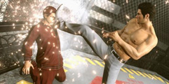 《如龙:极2》黑衣人S蓄力连续压制一套死无伤打法视频