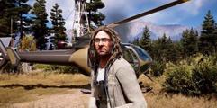《孤岛惊魂5》新载具演示视频 直升机狩猎演示视频