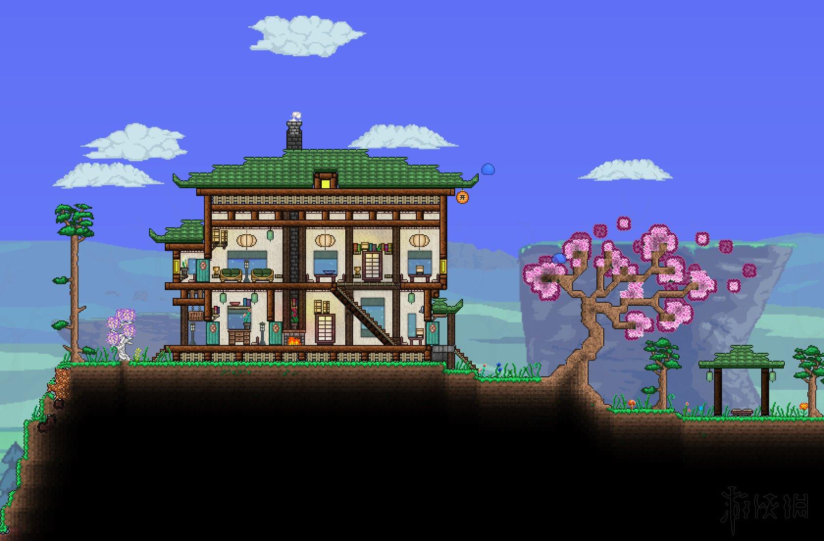 《泰拉瑞亞》好看的建筑房子構造匯總 精美建筑設計圖一覽