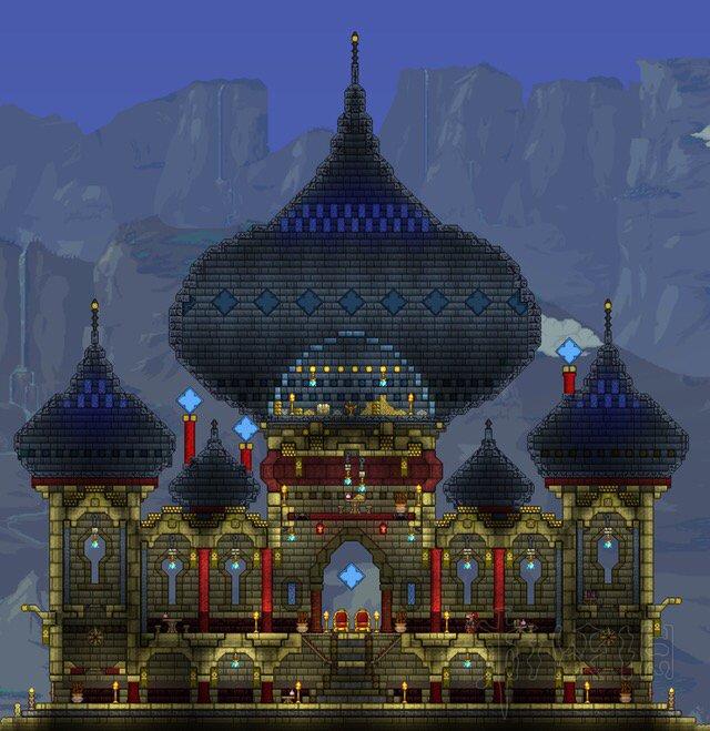 亚_泰拉瑞亚好看的建筑房子构造汇总 精美建筑设计图一览(2)_游侠网