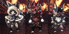 《怪物猎人世界》艾露猫装备外观一览 艾露猫有哪些好看的装备?