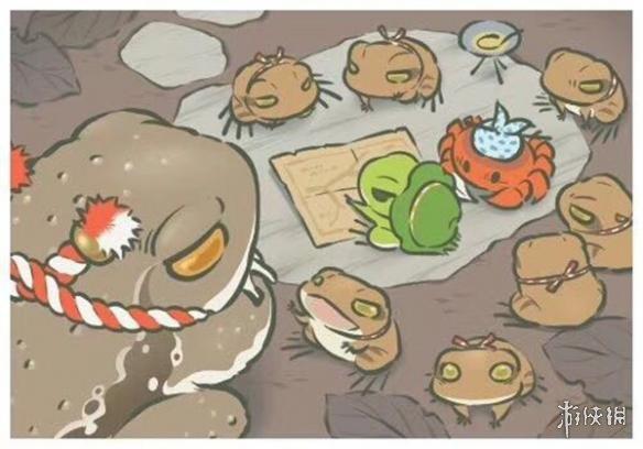 《旅行青蛙》明信片分享 旅行青蛙明信片大全