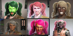 《怪物猎人世界》新手攻略视频分享 捏脸试玩视频