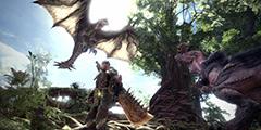 《怪物猎人世界》雄火龙怎么打?长枪讨伐雄火龙演示视频