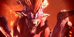 《怪物猎人世界》炎王龙大剑打法视频分享 炎王龙大剑怎么打?