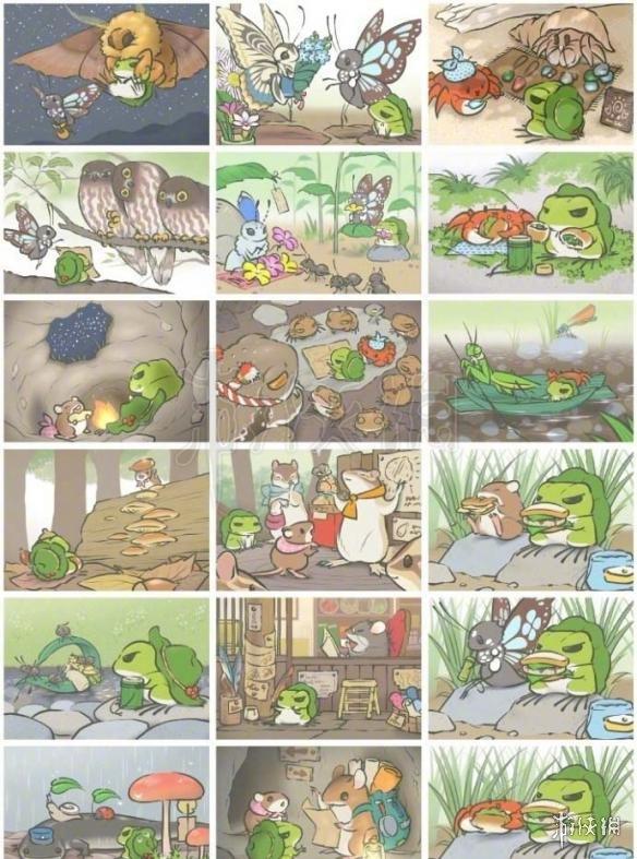旅行青蛙稀有明信片有哪些 全SSR稀有明信片图鉴汇总大全