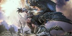 《怪物猎人世界》炎王龙VS灭烬龙演示视频
