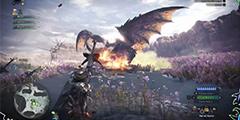 《怪物猎人世界》重弩1分34秒扩散弹速杀灭尽龙视频