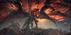 《怪物猎人世界》弓箭历战爆鳞龙7分37滑步流演示视频