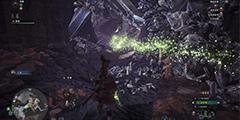 《怪物猎人世界》轻弩火事场力2分57秒讨伐尸套龙视频分享