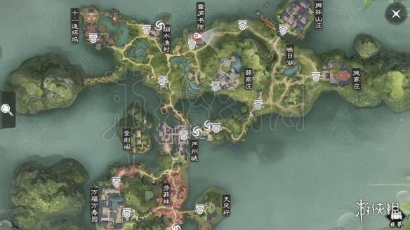 楚留香中原天机营在哪 3月13日坐观万象打坐修炼地点坐标