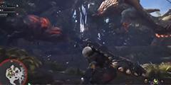 《怪物猎人世界》恐暴龙对战爆鳞龙视频分享